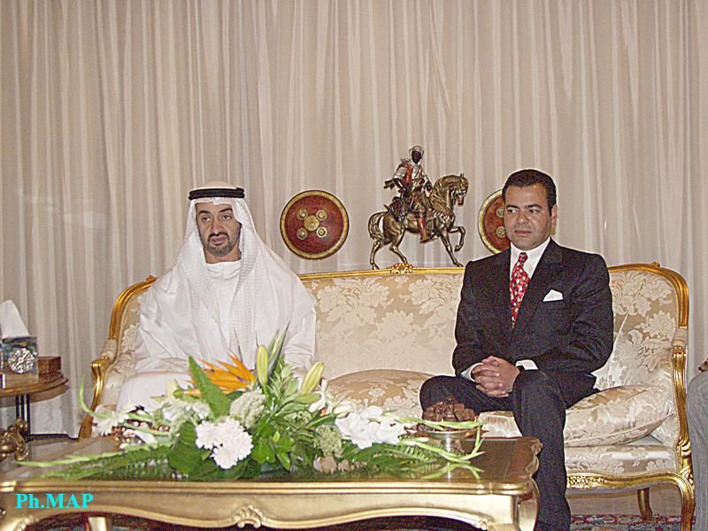 Crown Prince Moulay Rachid and Crown Prince of Abu Dhabi 21.06.2005