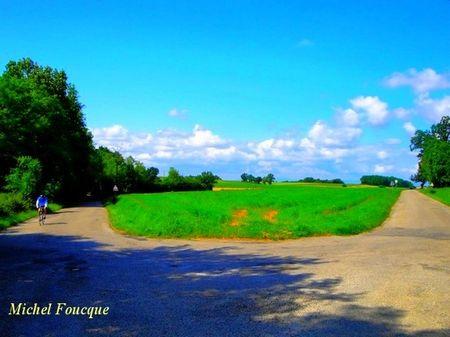 9)circuit sur des petites routes tranquilles