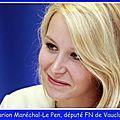 Marion maréchal-le pen sur la levée de l'interdiction de la réunion publique de la tour d'aigues (vaucluse) le 04/04/2017