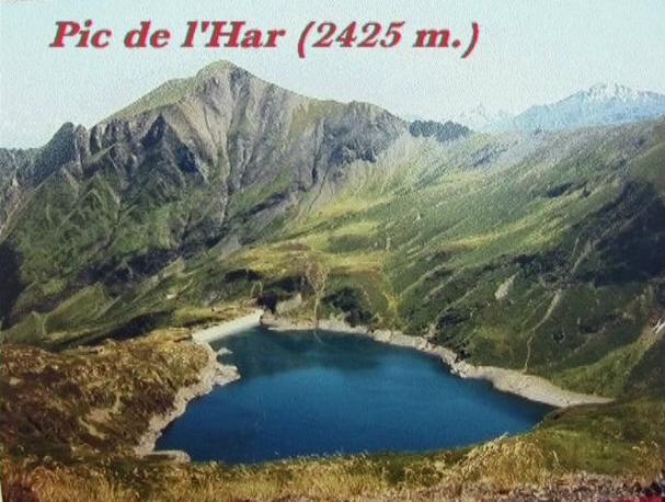 Pic de l' Har 2425 m - Ariège - Pyrénées