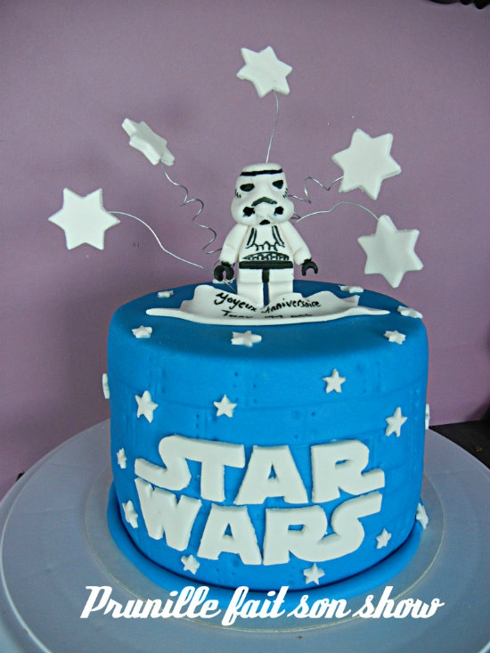 gateau star wars prunillefee