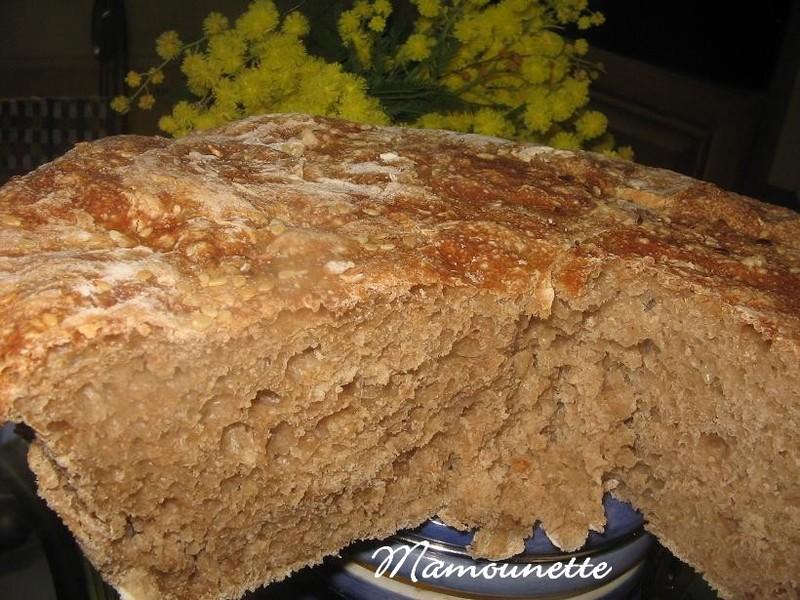 Pain farines t150 110 cuit cocotte et sans au four - Decongeler au four traditionnel ...