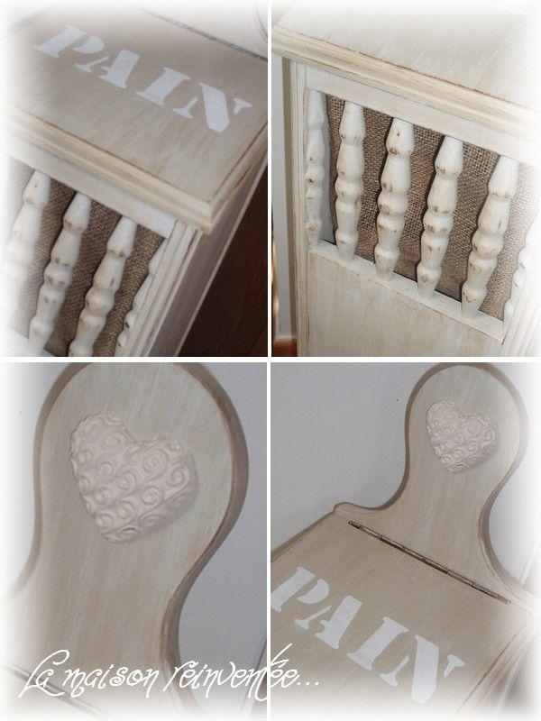 une huche pain la maison r invent e. Black Bedroom Furniture Sets. Home Design Ideas