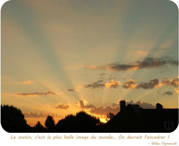 Quartier Drouot - Le lever de soleil