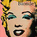 Blonde ---- joyce carol oates