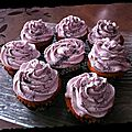 Cupcakes cassis