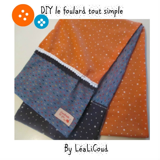 DIY ... le foulard tout simple