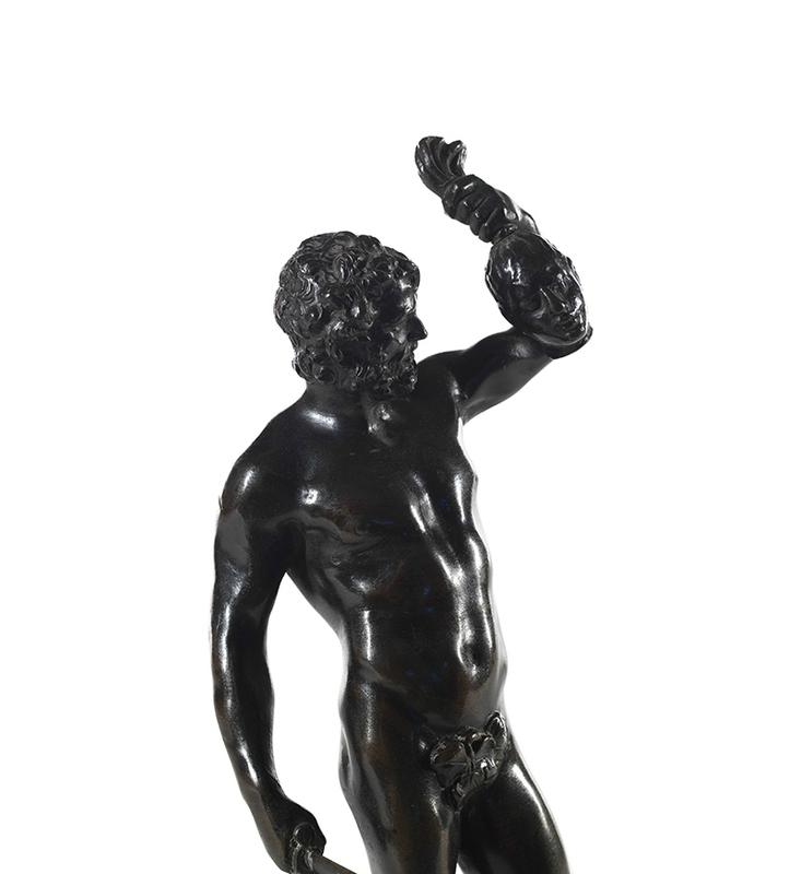 Le guerrier, d'après un modèle de François Duquesnoy (1597-1643), Flandres, XVIIe siècle détail