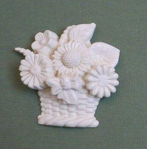 Panier fleur A