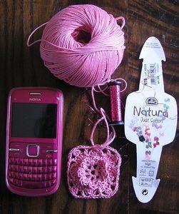 pochette téléphone
