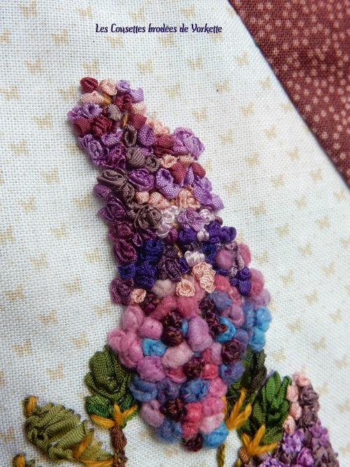 BLOC 11 FLOWERS Lilas GIPSY