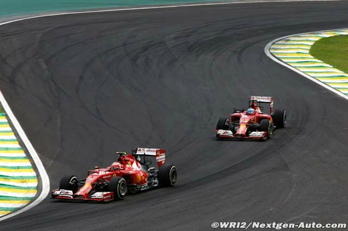 2014-Interlagos-F14 T-Raikkonen_Alonso