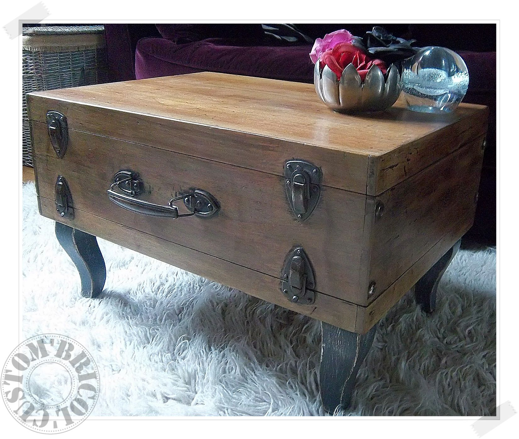valise table face