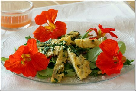 omelettecapucineensalade