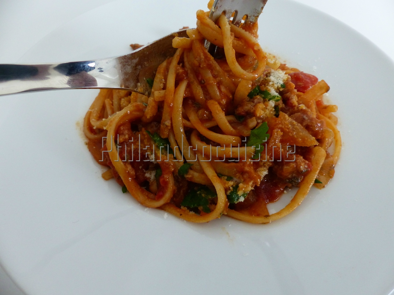 """One pot pasta"" bolognaise"