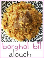 borghol bil alouch - bourghoul au mouton tunisien - index