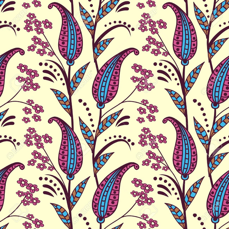 15890344-Paisley-seamless-pattern-Banque-d'images