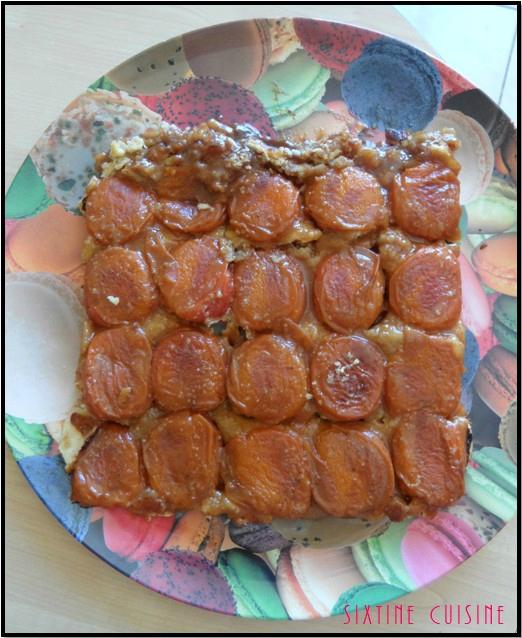 Tatin abricots 2