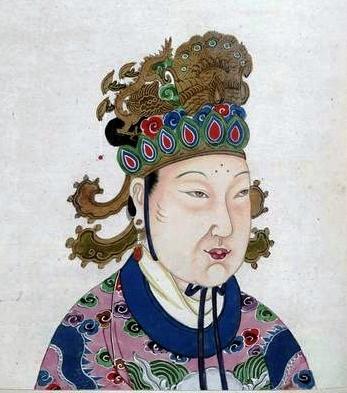 Portrait de Wu Zetian