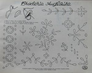 14 - broderie anglaise