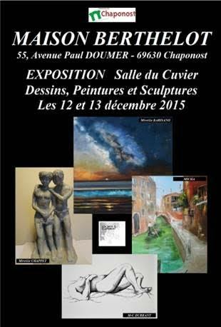 exposition 12 et 13 décembre 2015