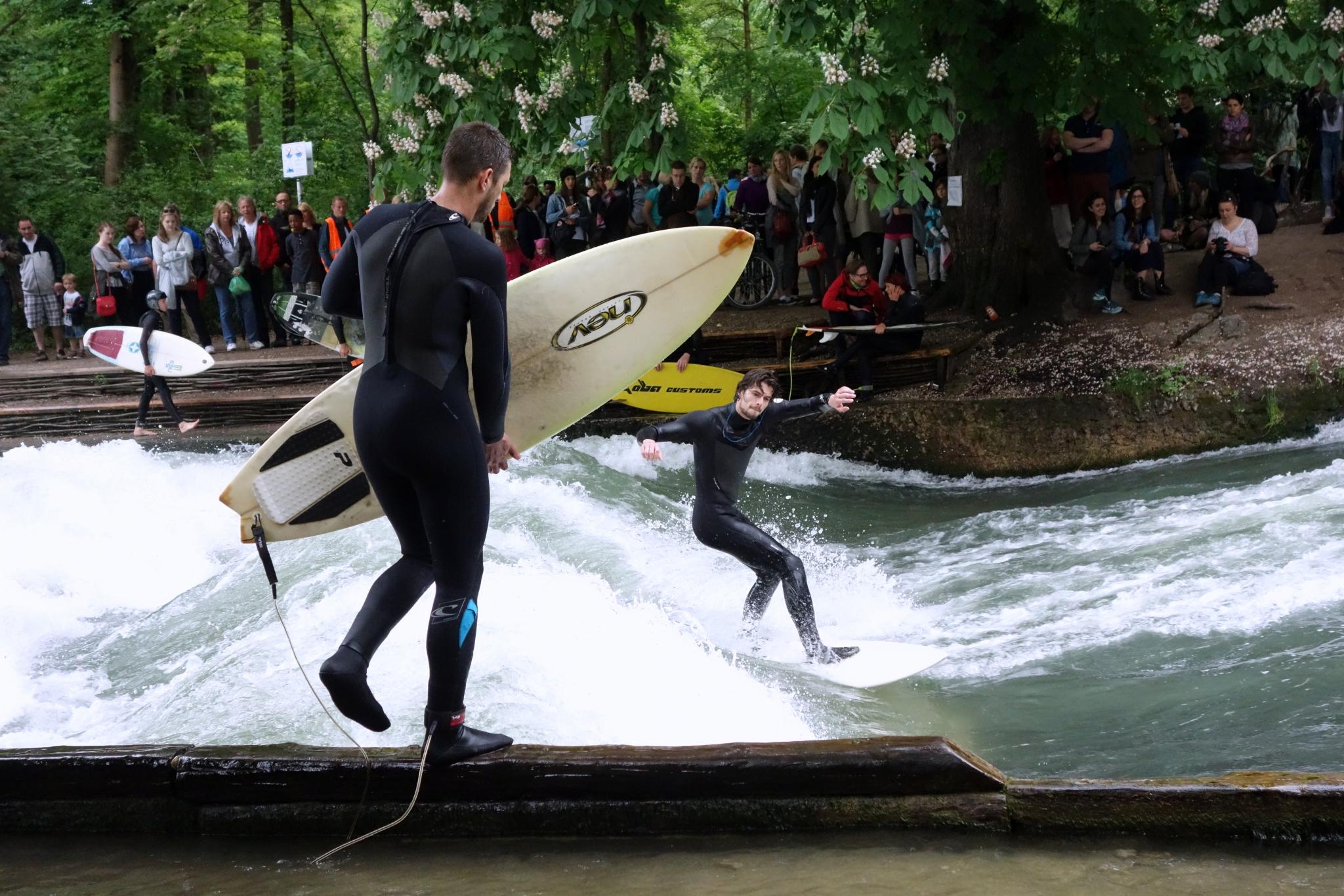 Suisse et allemagne partie1 captain apoel for Jardin anglais munich surf