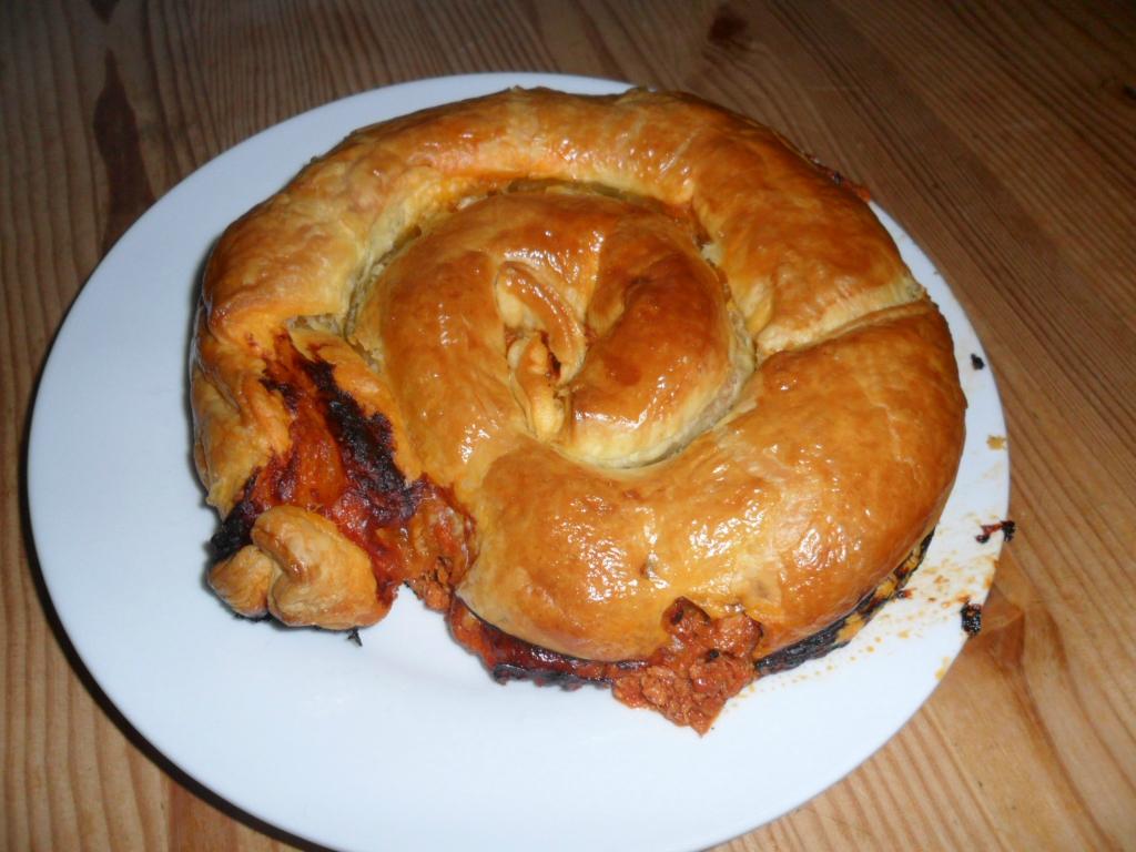 Super Escargot feuilleté au thon à la tomate *** - Ma p'tite cuisine à moi ! OO57