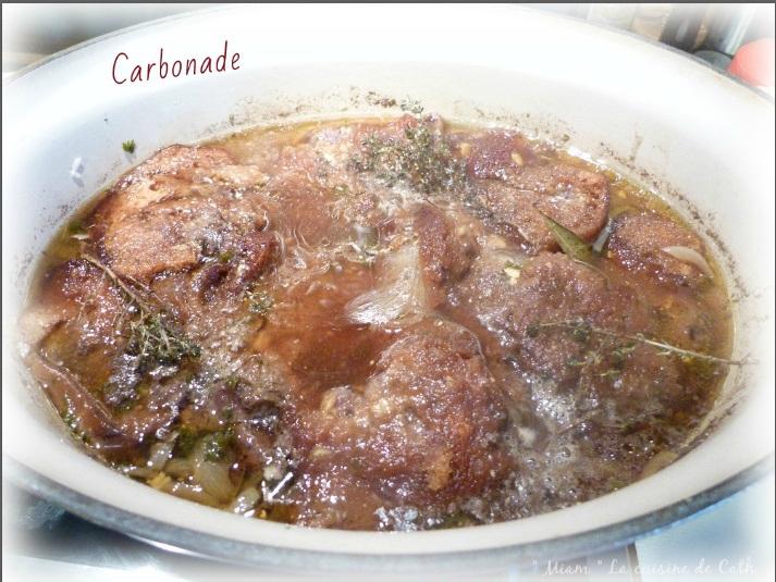 """ღ """" Miam """" Carbonade ou Caronnade ( Flamande )"""