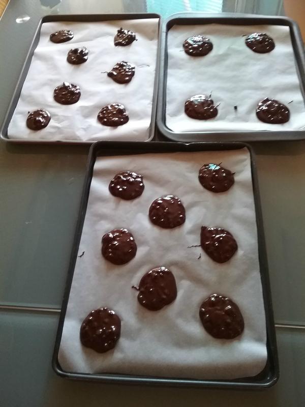 Cookies Brownies au chocolat 018