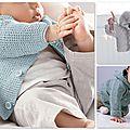 Des modèles de tricot pour bébé ?
