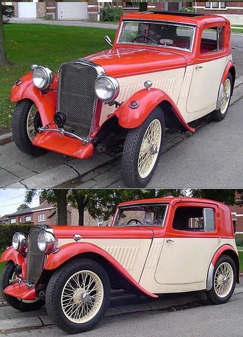 SINGER - Coupé Le Mans - 1933 (1)