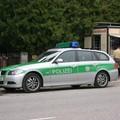 Les flics roulent en BMW ici