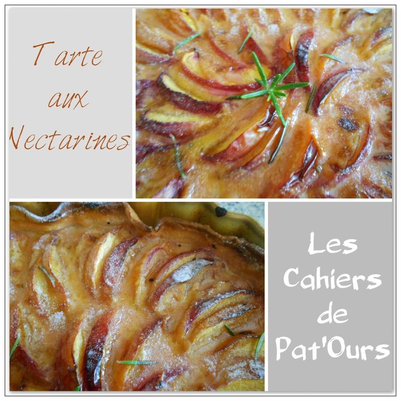 tarte aux nectarines 2