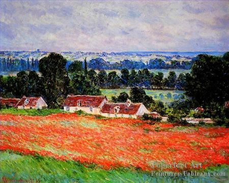 3-Coquelicots-At-Giverny-Claude-Monet