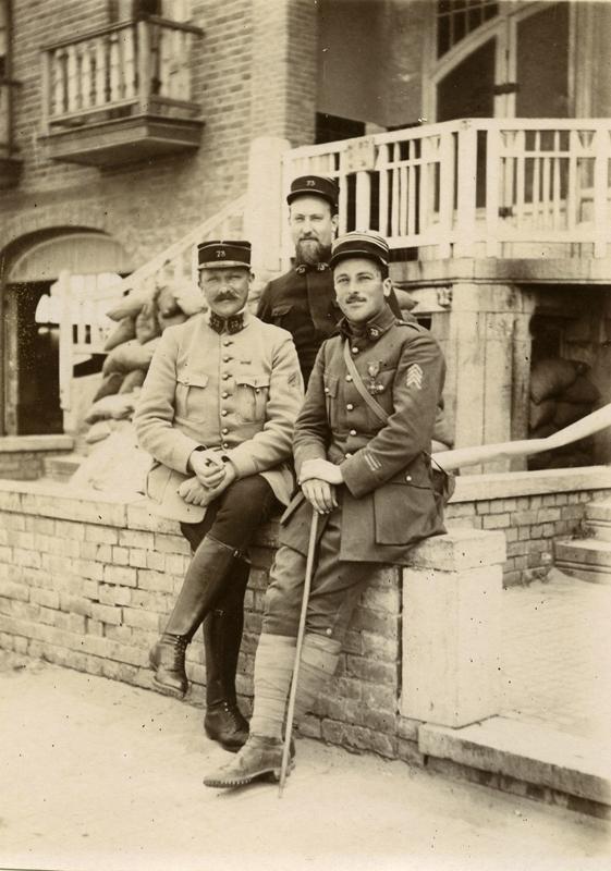 1918 Capitaine Longuet du 73-d