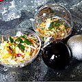 Salade de crabe mangue-coco