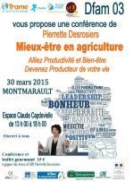 Affiche Pierrette Desrosiers Allier Dfam 03 conférence
