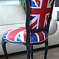 Chaise terminée union jack 02