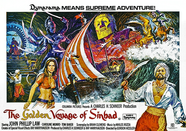 The Golden Voyage Of Sinbad (1973) 2 by Brian Bysouth