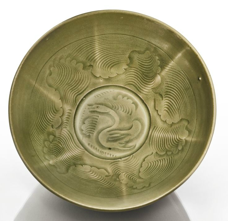 A carved 'Yaozhou' bowl, Northern Song dynasty