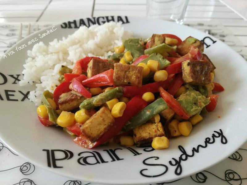 Curry thaï au tofu 2