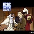 H2G2 Douglas adams hitchhiker's guide dessin picture