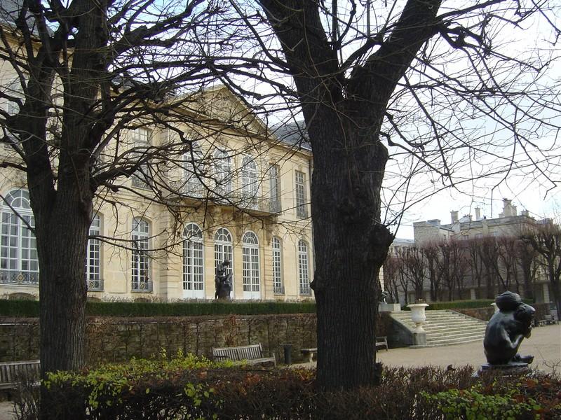 Hôtel de Biron côté jardin