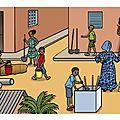 Février, fin d'une série d'illustrations pour édicef