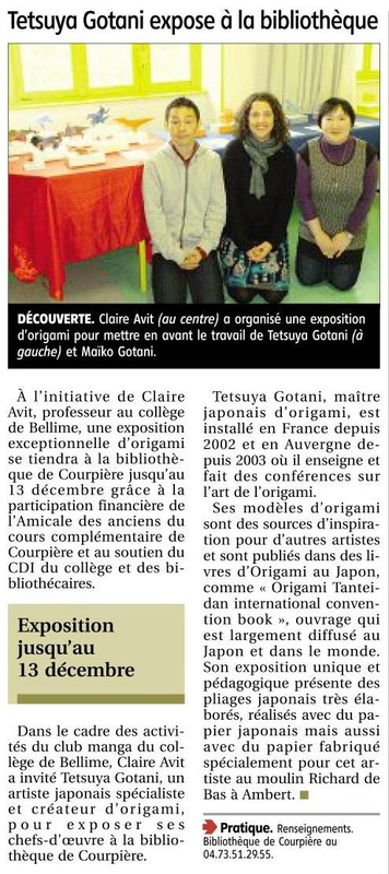 article journal la montagne 04122013