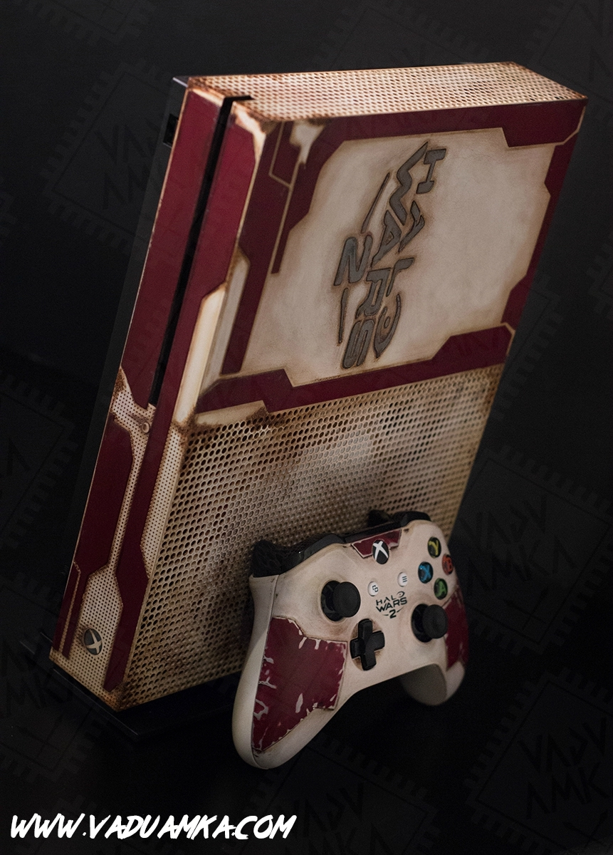 Une Xbox One S pour Halo Wars 2 !