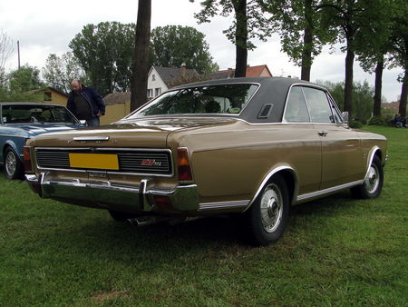 FORD 26M P7 Automatic Coupe 1968 1971 Ideale DS Achenheim 2010 2
