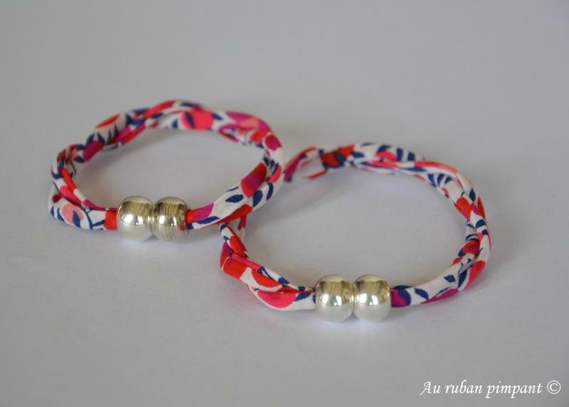 Bracelets fermoir aimanté liens liberty