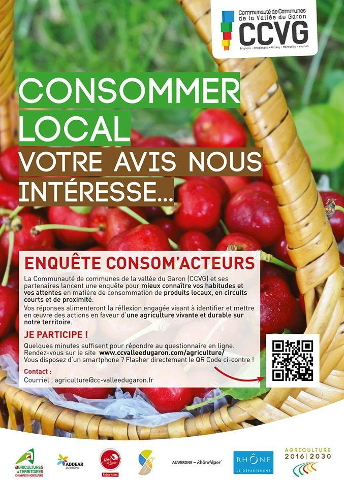 - Consommer local : enquête consom'acteurs