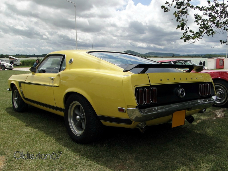 ford mustang boss fastback coupe 1969 b